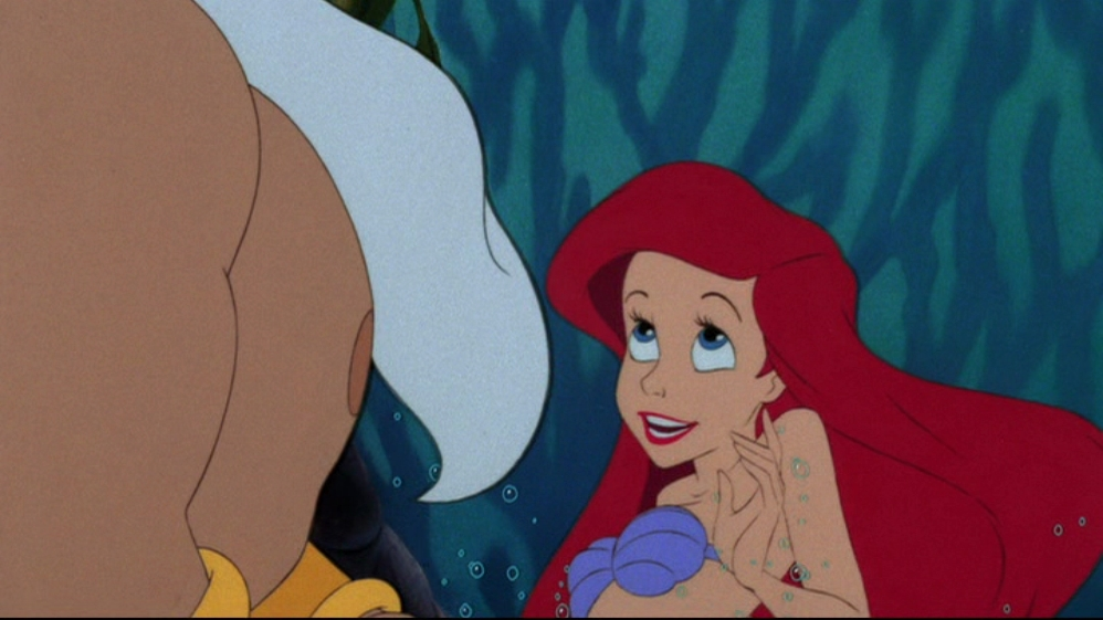 the little mermaid response On december 16, 2008, the film was released in a the little mermaid trilogy boxed set that includes the little mermaid (platinum edition) and the little mermaid ii: return to the sea on november 19, 2013, it was released on blu-ray as a 2-movie collection alongside the sequel.